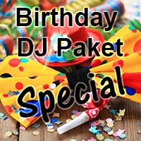 Birtday DJ Paket Special